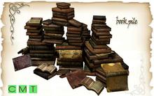 [MF] Mesh book pile (boxed)
