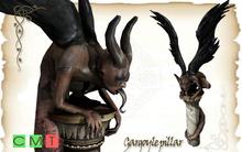 [MF] Mesh Gargoyle pillar statue (boxed)
