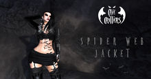.:CAVE CRITTERS:. -  Female Spider Web Jacket