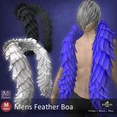 ::: B@R ::: Mens Feather Boa