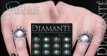 :Diamante: Sunshine Rings (HUD Version)