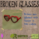 Broken Hearts Sunglasses