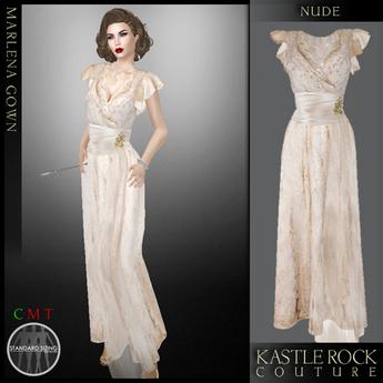 :KR: Marlena Gown - Nude