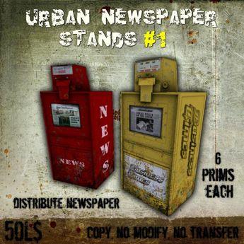 URBAN NEWSPAPER STANDS #1