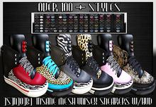 ]S]N]0]B] Insane Unisex Sneakers w/ HUD