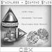 ~C2X~ Stainless Steel & Diamond Stud Piercings