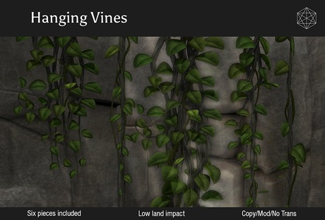 Mesh Vines with materials