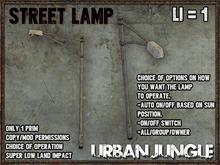 STREET LAMP - 1 PRIM - MESH - URBAN JUNGLE