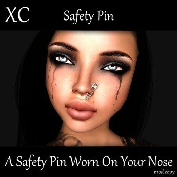 XC Safety Pin In Your Nose