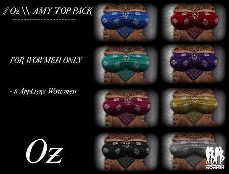 // Oz \\ AMY TOP PACK