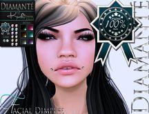 :Diamante:&{K}: Facial Dimples Piercing (Original Mesh)