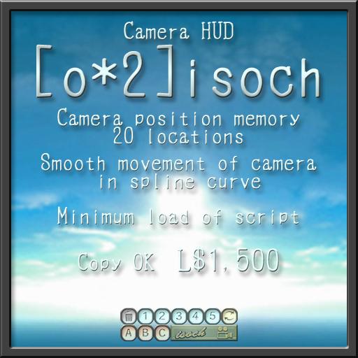 camera  HUD [o*2] isoch