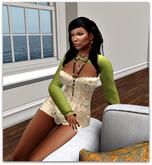 Neen Top Sleeves light green - (tm) Freeky
