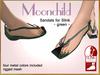 DEMO Bliensen + MaiTai - Moonchild - Sandals for Slink - Female