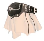 ShuShu PIRAT KISS skirt wearable demo MESH - shushu congrejo