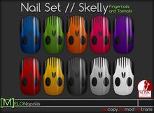 [M] Slink Nail Polish // Skelly