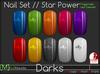 [M] Slink Nail Polish // Star Power Darks