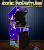Sonic Adventure Arcade Machine