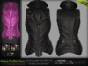 MESH Hope Gothic Spiked Leather Vest* Rigged (HUD Driven) *DreamLife - FashionNatic*
