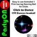 PartyON Dance Ball M04 - 199 Dances loaded!