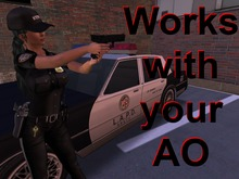 Animations for pointing a gun ( Police )
