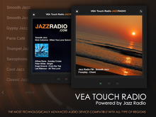 VEA Touch Radio - Powered by JAZZRADIO - Audio and Media