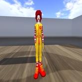 Ronald McDonald avatar almost free