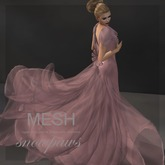 Snowpaws - Paloma Mesh Gown - Breeze