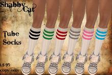 ~Shabby Cat Tube Socks~