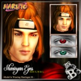 {B}SHARINGAN EYES - NARUTO*