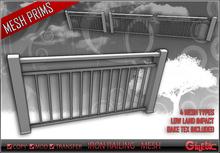 [G] Iron Railing - Mesh