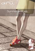 aru. Summer wedges  *fatpack* ADD