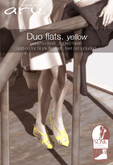 aru. Duo flats (yellow) (Add)