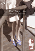 aru. Duo flats (blue) (Add)