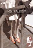 aru. Duo flats (orange) (Add)