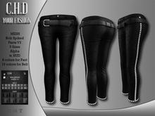Demo [C.H.D] Brik Spiked Pants V3/V4