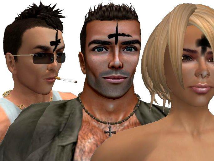 Ash Wednesday Forehead Crosses