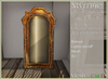 *old item discount* Vintage mirror with on/off lights - Bronze