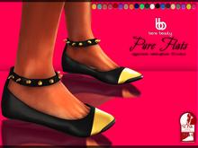 Bens Boutique - Pure Flats Fatpack (slink flat feet)