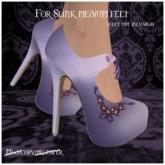 -EM- Emily shoe (slink mid) Lilac