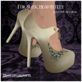 -EM- Emily shoe (slink mid) Gold