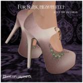 -EM- Emily shoe (slink mid) Peach