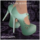 -EM- Emily shoe (slink mid) Mint