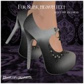 -EM- Emily shoe (slink mid) Bluebell