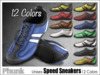 [Phunk] Mesh Unisex Speed Sneakers (12 Colors)