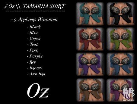 // Oz \\ TAMARHA SHIRT