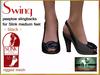 Bliensen + MaiTai - Swing - vintage Shoes for Slink Mid - Black