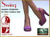Bliensen + MaiTai - Swing - vintage Shoes for Slink Mid - Pink