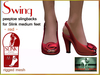 Bliensen + MaiTai - Swing - vintage Shoes for Slink Mid - Red
