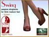Bliensen + MaiTai - Swing - vintage Shoes for Slink Mid - Brown
